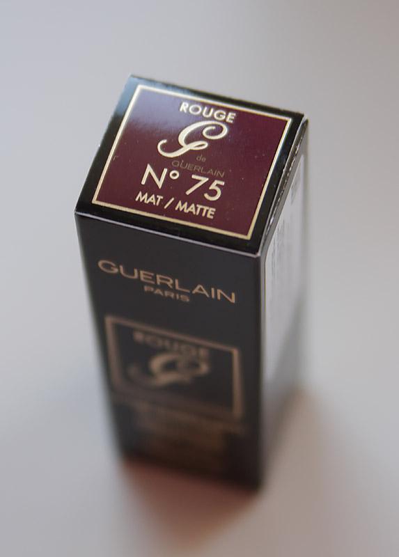 Guerlain Rouge G Matte 75 & футляр в цвете Minimal Chic