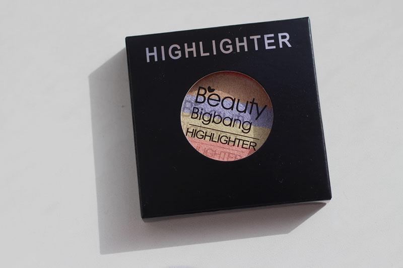 BeautyBigBang Rainbow Highlighter Powder Palette