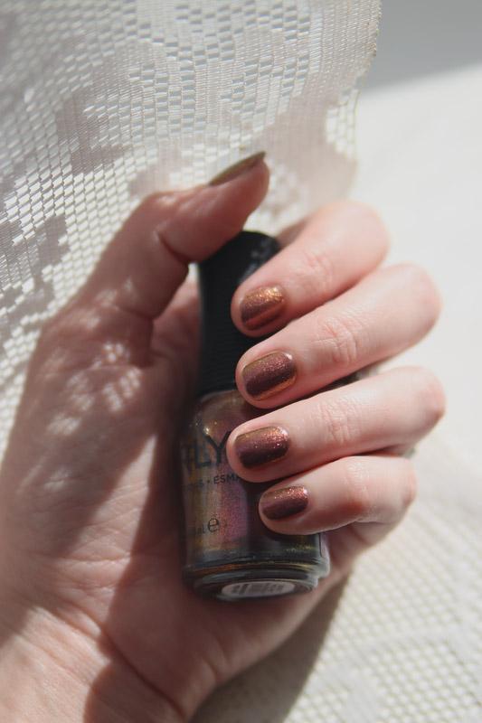 Orly Vernis Velvet Kaleidoscope & Black Cherry (коллекция Velvet Dream)