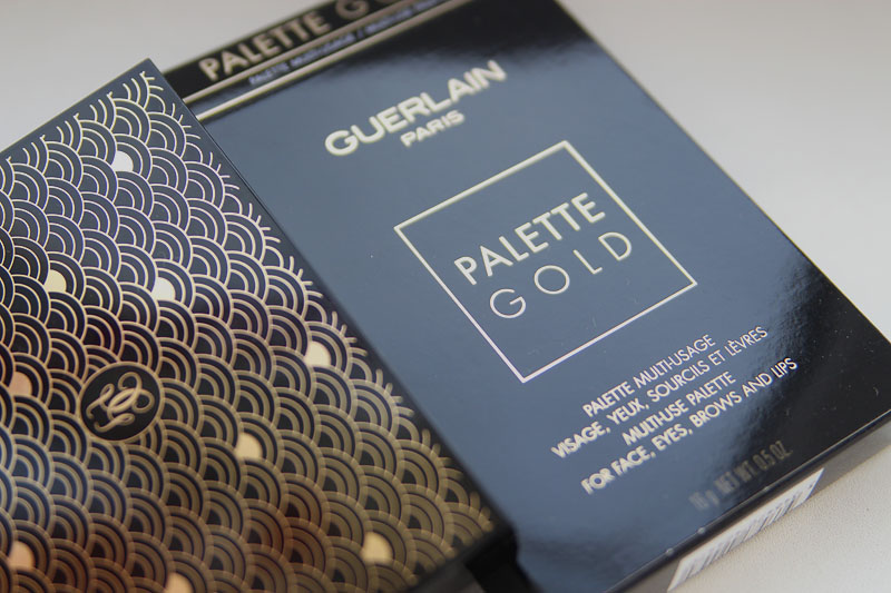 Guerlain Palette Gold Multi-Use Palette For Face, Eyes, Brows And Lips