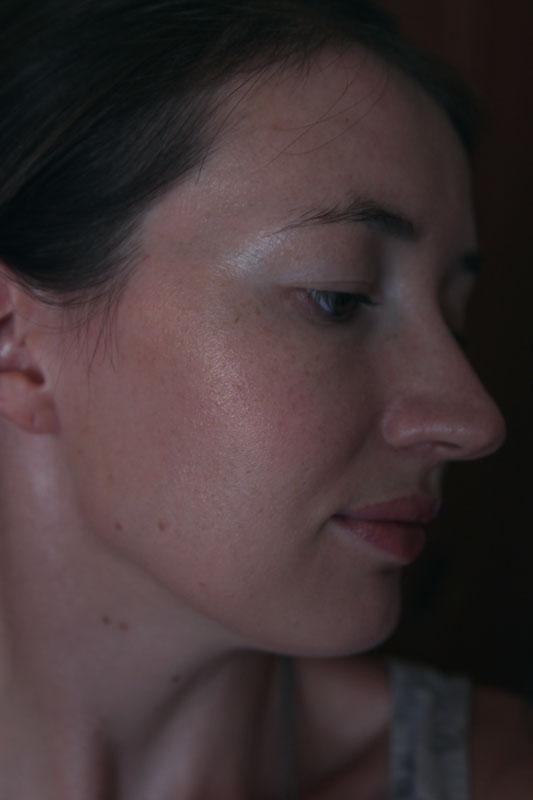 Guerlain Terracotta Sahara Jewel Bronzing and Blush Powder - свотчи на лице