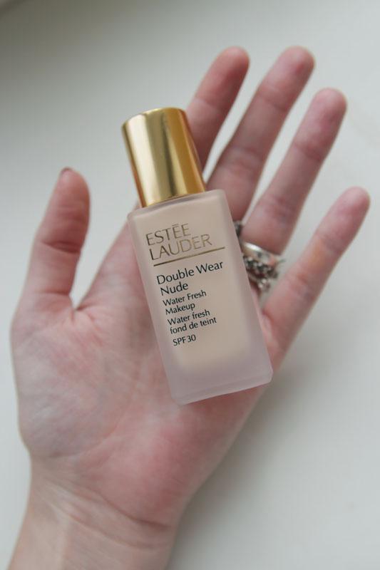 Estee Lauder Double Wear Nude Water Fresh Makeup SPF30 1C1 Cool Bone