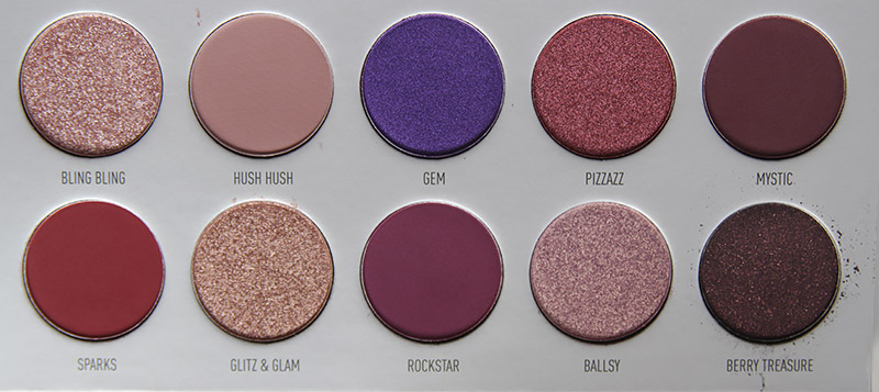 Morphe by Jaclyn Hill Bling Boss Eyeshadow Palette