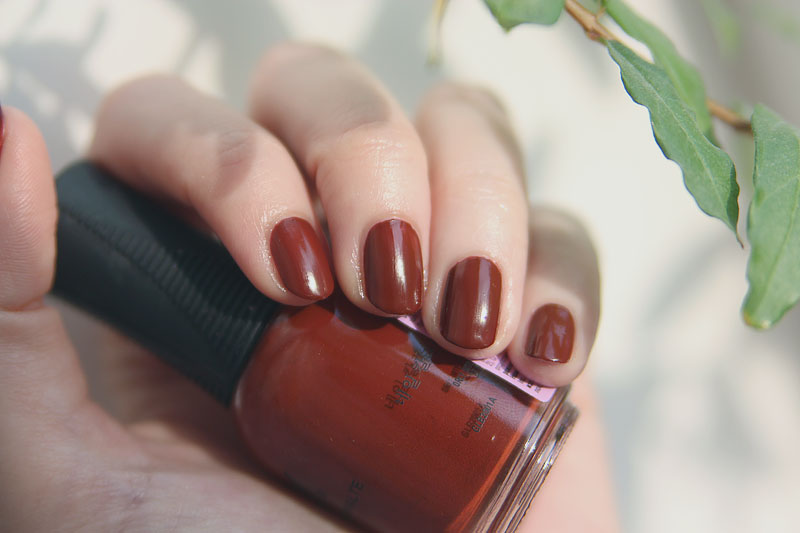 Orly Penny Leather