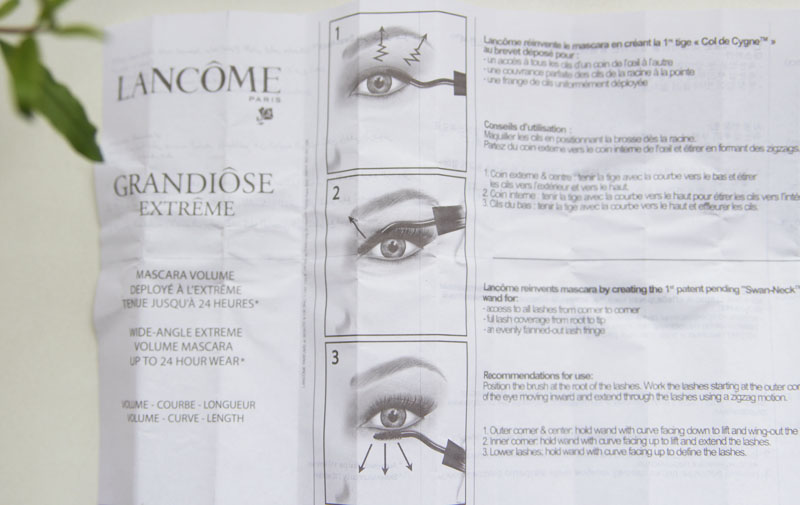 Lancome Grandiose Extreme Mascara