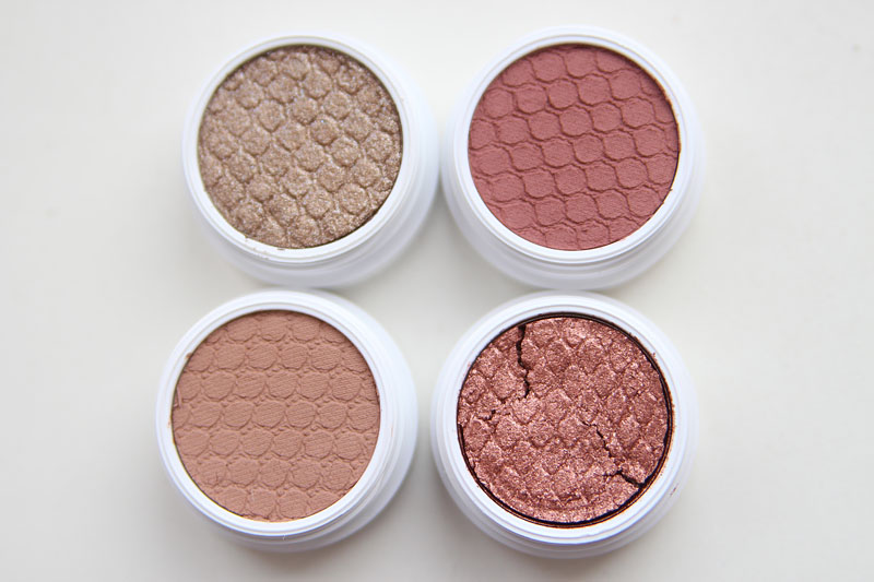 ColourPop Super Shock Shadow Brady, Hanky Panky, Sequin, Cosmic Charge