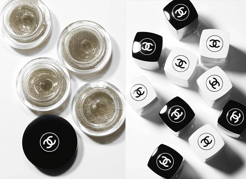 Chanel Black and White Makeup Collection - осенняя коллекция 2019